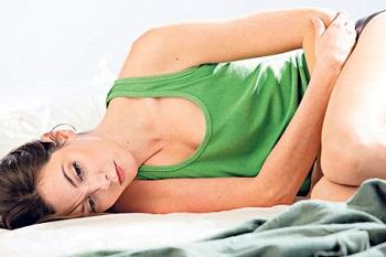 Симптомы увеличения яичника
