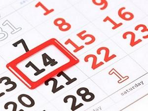 Календарный метод подсчета цикла