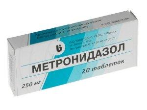 Метронидазол против дисбактериоза