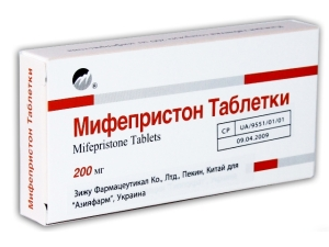 "Абортивные таблетки ""Мифепристон"""