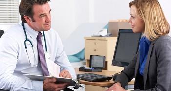 Консультация врача перед прерыванием беременности
