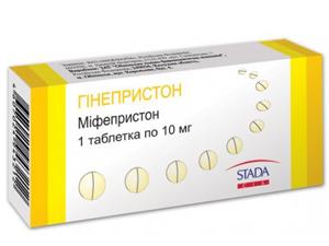 Гинепристон - аналог Мифепристона