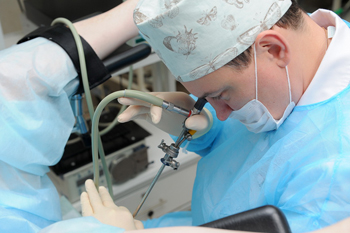 Проведение цистоскопии мочевого пузыря