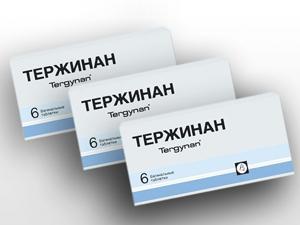 Свечи Тержинан для лечения аднексита
