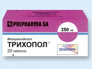 Трихопол для лечения дисбактериоза влагалища