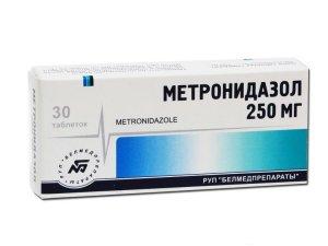 Метронидазол против уретрита