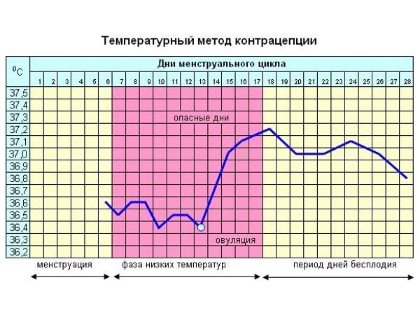 Температурный метод контрацепции