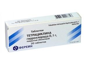 Терациклин для лечения сифилиса
