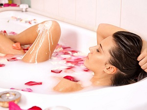 Временный отказ от принятия ванн после процедуры