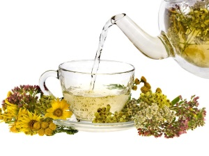 Заваривание травяного чая