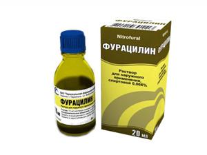 Фурацилин для лечения вульвита