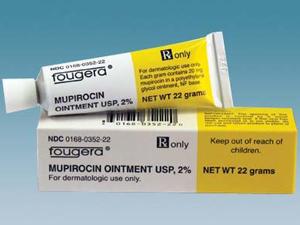 Мупироцин для лечения экземы