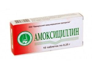 Амоксициллин для лечения цистита