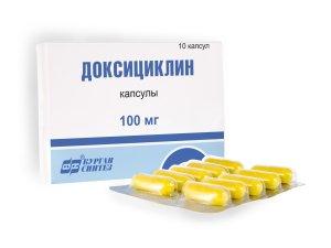 Доксициклин для лечения воспаления
