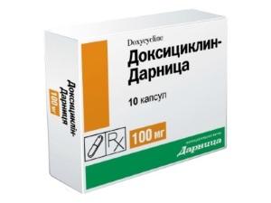 Доксициклин для лечения венерической лимфогранулемы