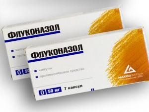 Флуконазол при белых выделениях