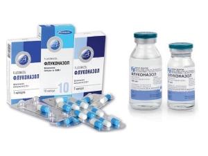 Раствор и таблетки Флуконазола
