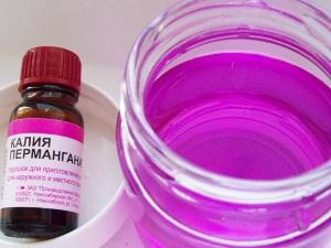 Польза раствора марганцовки для лечения вульвита