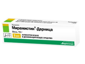 Эффективность Мирамистина в форме мази для лечения молочницы