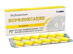 Назначение Норфлоксацина при цистите