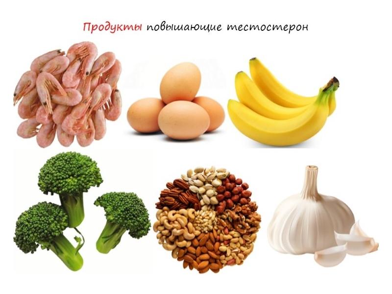Тестостерон в продуктах