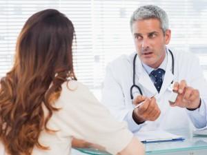 Наблюдение у врача в период восстановления после фиброаденомы