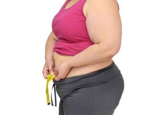 Ожирение - причина опущения матки